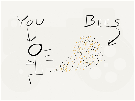 You + Bees